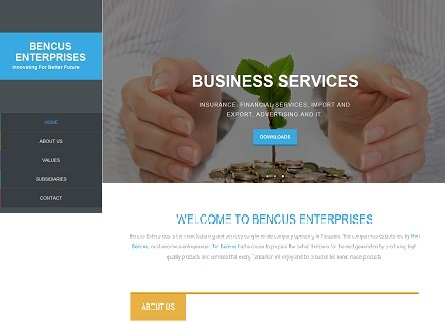 Bencus Enterprises Website